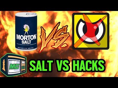 TOXIC & SALTY PLAYERS VS A HACKER - Rainbow Six Siege
