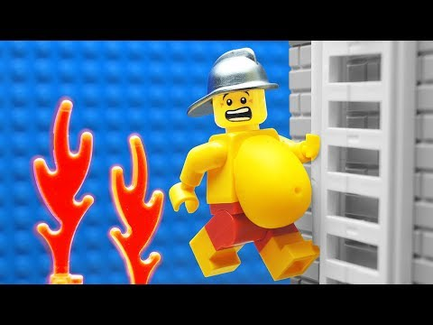 Lego Firefighter School - Training Camp
