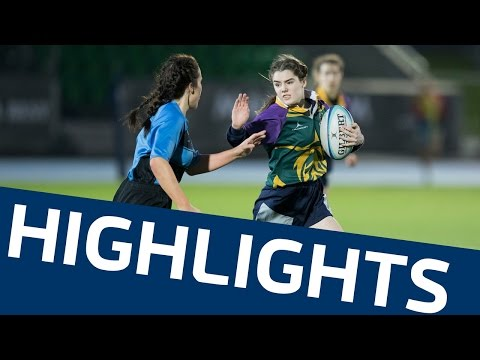 Scottish Rugby Girls' Schools' Cup Finals 2016