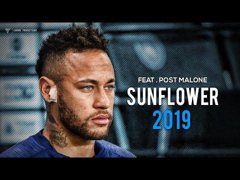 "Neymar Jr - ""Sunflower"" ft. Post Malone - Skills & Goals 2019"