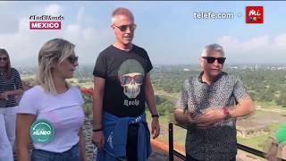 que haza  a  marley y noelia intentan subir a la piramide del sol   por el mundo