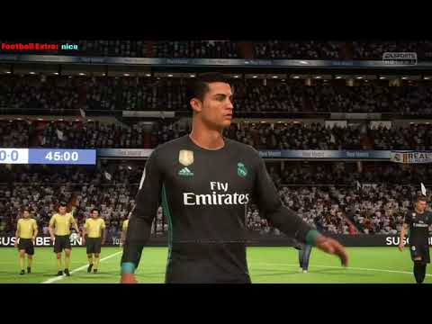 Fifa 18. Real Madrid - Manchester City