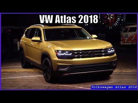 Volkswagen Atlas 2018 SUV 3.6 L V6 Interior Exterior Review