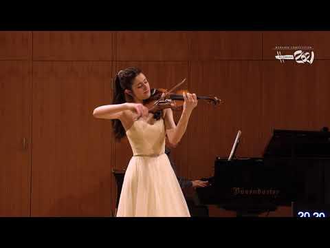 María Dueñas - Menuhin Competition Richmond 2021, Senior Finals
