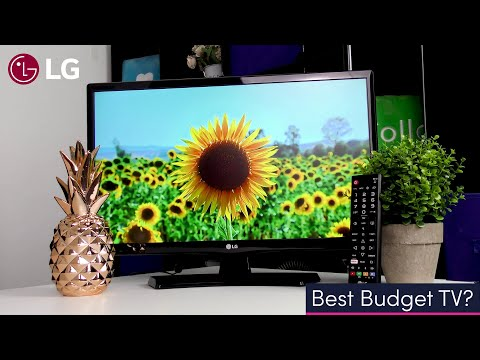 "Best Budget TV? LG 22TN410V 22"" LED TV (2020 Model) - Full HD IPS Display!"