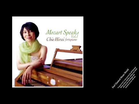 Chie Hirai: Mozart Speaks vol.1