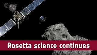 Rosetta science continues