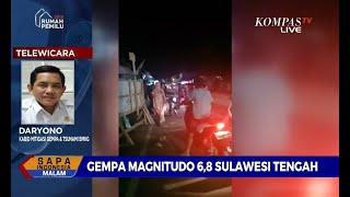 Download Video BMKG: Gempa di Kep. Banggai Berpotensi Tsunami MP3 3GP MP4