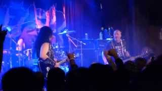 EXCITER Stand Up And Fight & Heavy Metal Maniac LIVE Bellhouse Brooklyn NEW YORK March 14, 2015