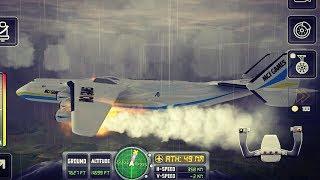 Super Big Airplane / Flight Sim 2018 (Ovilex Software) #8 - Android/iOS Gameplay HD Flight Game