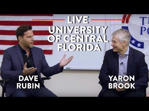 Dave Rubin and Yaron Brook Live at UCF