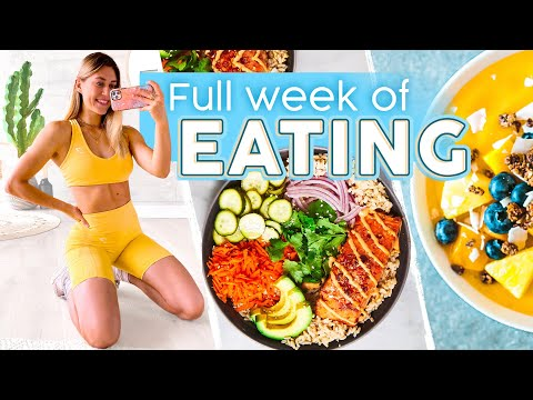 A Full Week of Eating: Intuitive Eating + EASY Home Meals