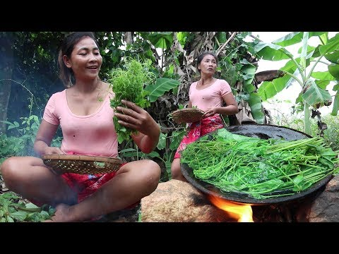 Find Natural Vegetables Grilled On Clay For Food - Cooking Natural Vegetables Eating Delicious #21