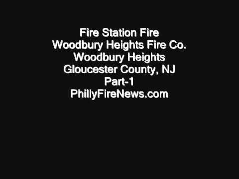 Woodbury Heights NJ Firehouse Fire March 23, 2012