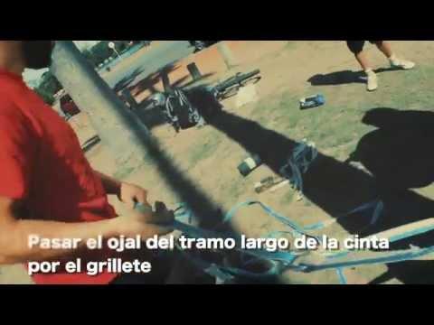 Set Up slackline -  Pump Slackline Argentina