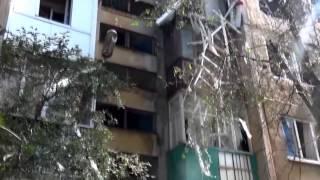 Ясиноватая после украинско фашистского артобстрела