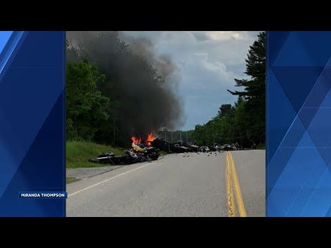 6 Mass Victims Among 7 Killed In Route 2 Motorcycle Crash Youtube
