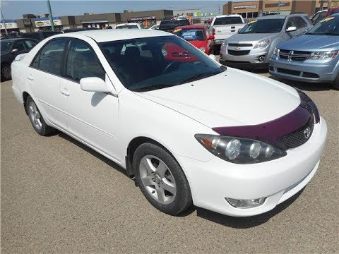 2005 Toyota Camry LE for sale in Regina, SK