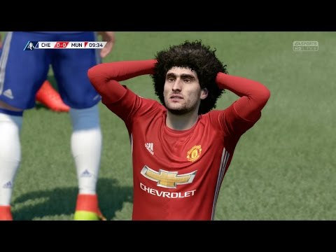 FIFA 17 (Xbox One) - Emirates FA Cup | Chelsea vs Manchester United (Full Game)