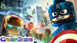 #LEGO Marvel's Avengers Full Game - Best LEGO Game for Children & Kids