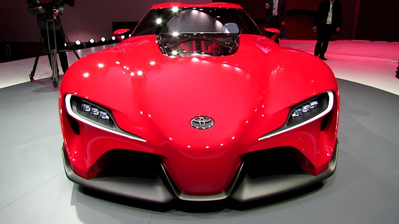 2015 Toyota Ft1 Concept Exterior Walkaround Debut At