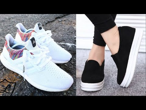 486eb296ea4e9 ZAPATOS DE MODA 2018 2019 Tendencias en Zapatillas  SHOES COLLECTION ...