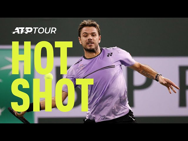 Hot Shot: Wawrinka Wows In Thrilling Point Against Federer In Indian Wells 2019