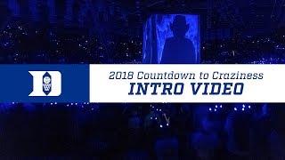 2018 Countdown To Craziness: Duke Basketball Intro Video