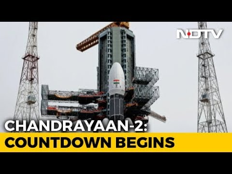 ISRO's Second Launch Attempt For Chandrayaan-2 At 2:43 pm Today