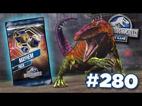 The Most Expensive Pack! || Jurassic World - The Game - Ep280 HD