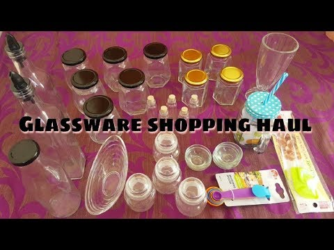 Glassware shopping haul / In Tamil / Madras glassware house shopping in new shop
