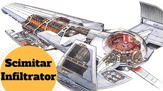 Darth Maul's Sith Infiltrator - The Scimitar - Star Wars Vehicles & Ship Battlefront Lore Explained