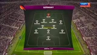 مباراة مجنونة بين ايطاليا واسبانيا نهاءي اليورو 2012 تعليق رؤوف خليف كاملة