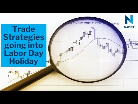 Trade Strategies going into Labor Day Holiday