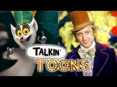 King Julien and the Chocolate Factory (Talkin' Toons w/ Rob Paulsen)