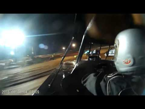 Midway Speedway Modified Feature Rex Frohnapfel GoPro 4-21-17