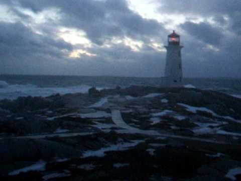Waves at Peggy's Cove, Nova Scotia