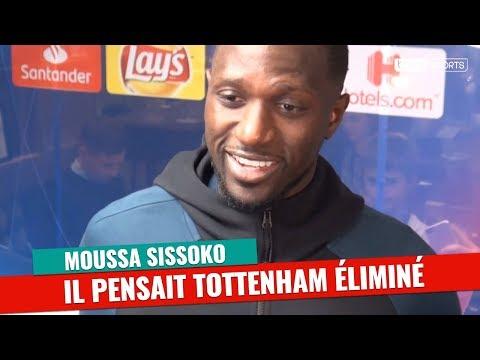 Ligue des Champions : Rentré aux vestiaires, Sissoko pensait Tottenham éliminé !