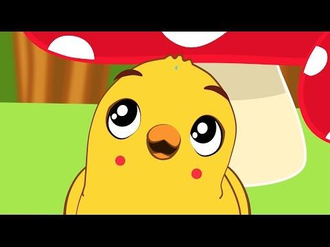 Pintinho Amarelinho   + 15 minutos de musica Infantil com Os amiguinhos