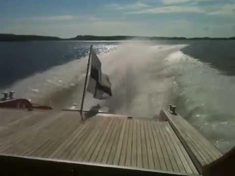 Termolli 63 at cruising speed