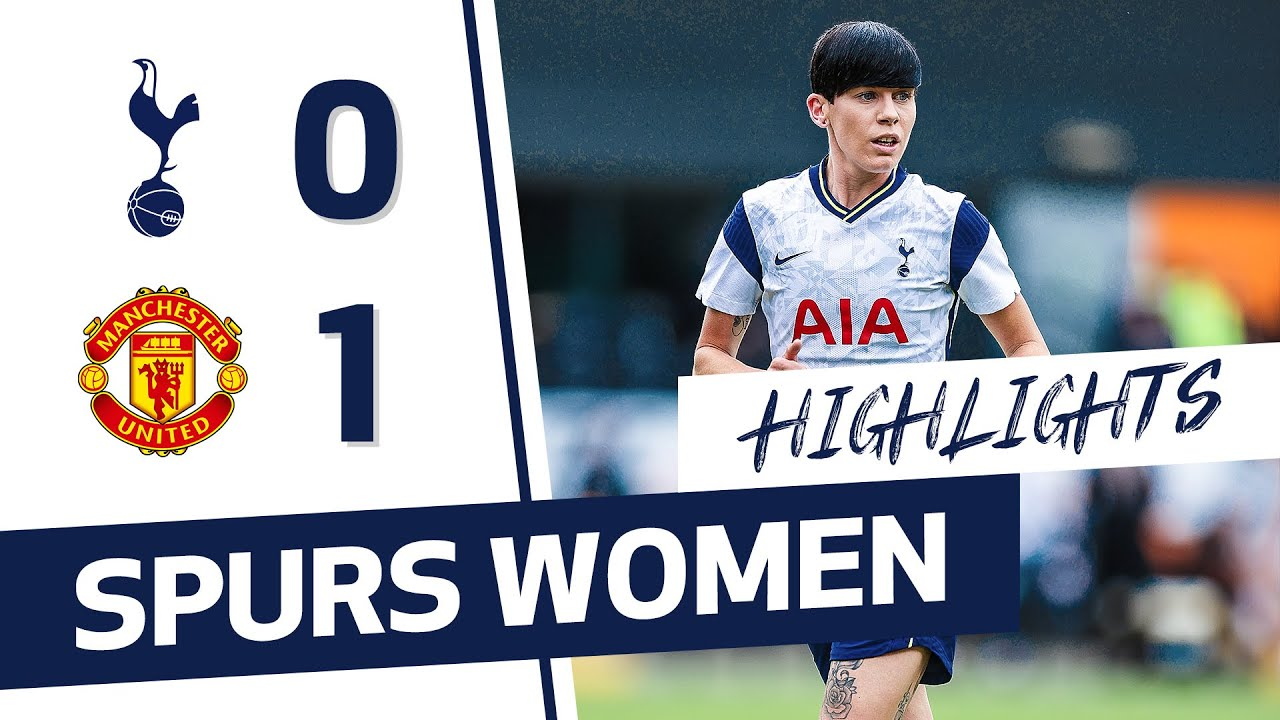 HIGHLIGHTS | SPURS WOMEN 0-1 MANCHESTER UNITED | FAWSL
