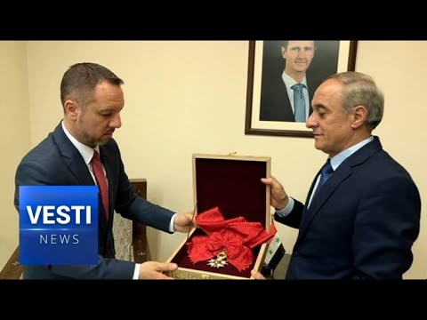 """Assad Doubles Down, Returns French Legion of Honor Award to Government Run by """"Slaves"""""""