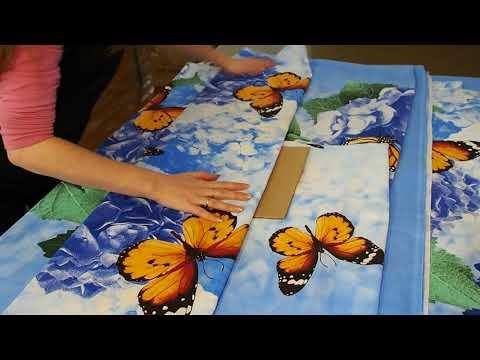 Упаковка постельного белья своими руками