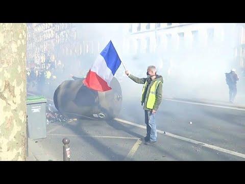 مظاهرات جديدة للسترات الصفراء بفرنسا وسط تراجع لأعداد المشاركين…  - نشر قبل 56 دقيقة