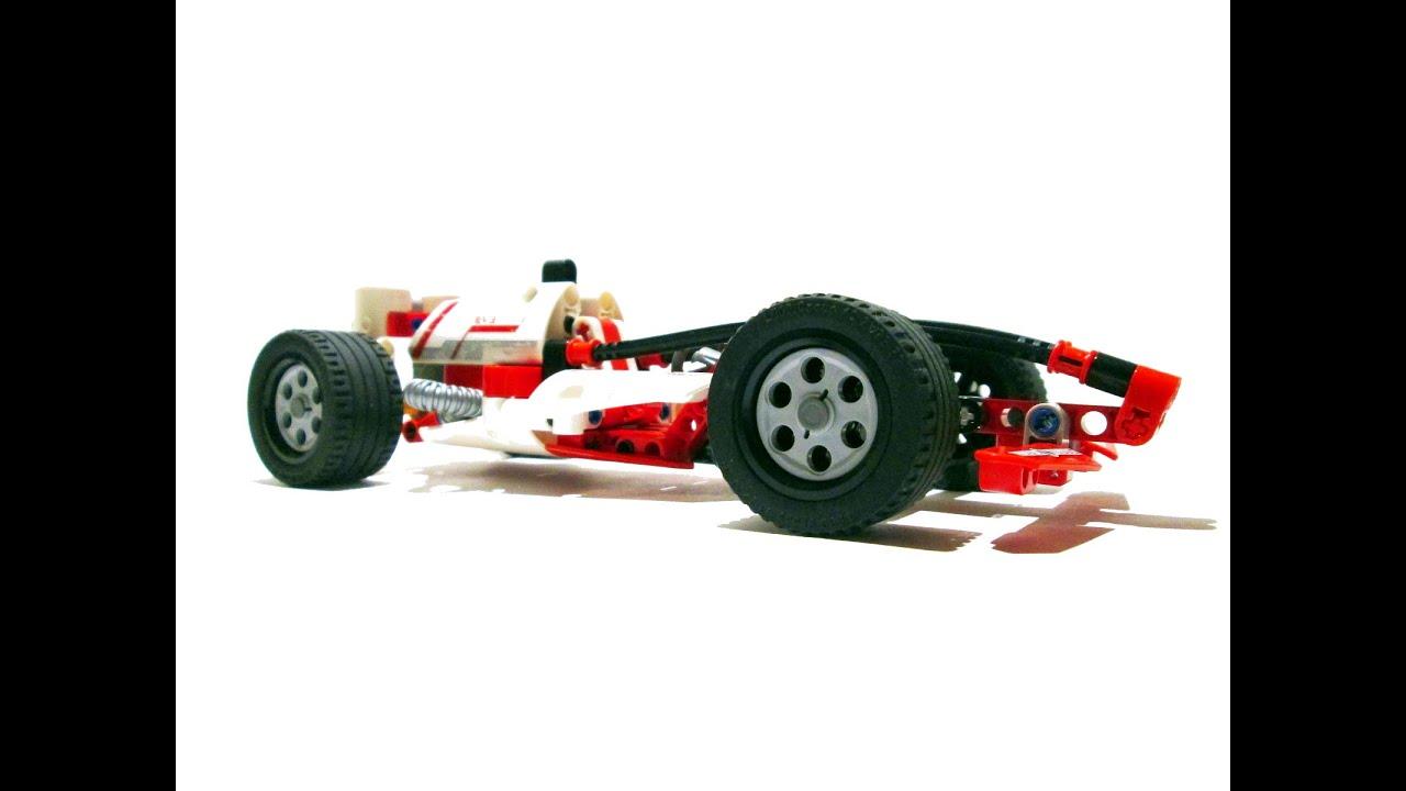 Lego Technic White Champion Rac3r | 42026 Pullback Racer ...