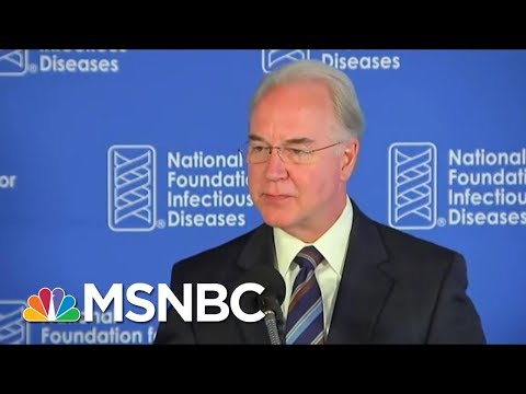HHS Secretary Tom Price Resigns After Private Plane Use | MTP Daily | MSNBC