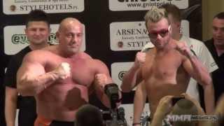Kontrowersja z pieluchą na ważeniu MMA Attack 3
