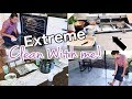 Real Life Ultimate Clean with Me! | Messy House Monday! Cleaning Motivation