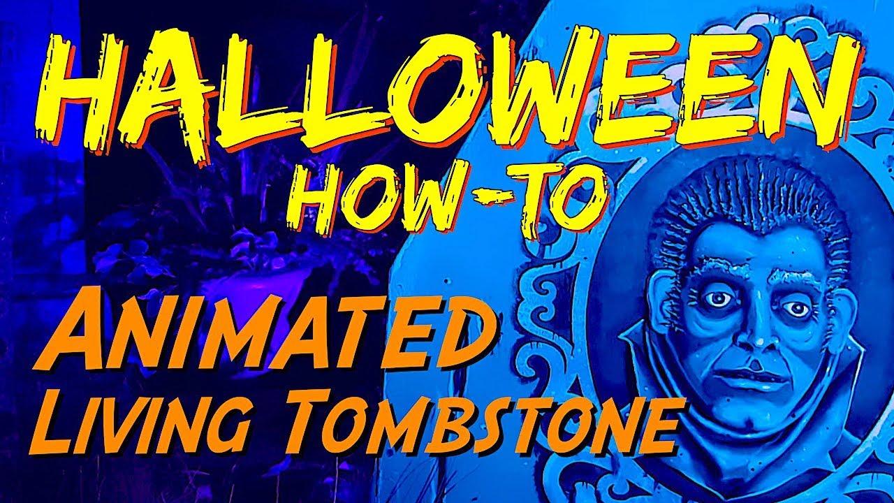 Diy Halloween Props Animated.Diy Animated Living Moving Tombstone Halloween Prop