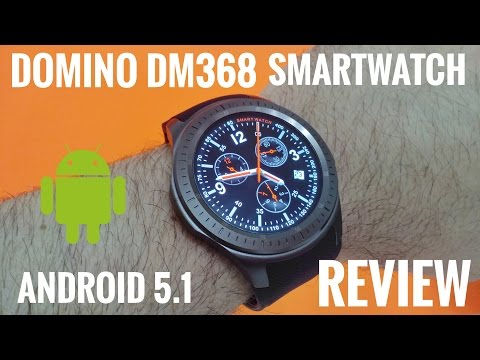 """DM368 3G Smartwatch ⌚REVIEW - 1.39"""" Amoled Screen, Android 5.1 - Cool China Watch!"""